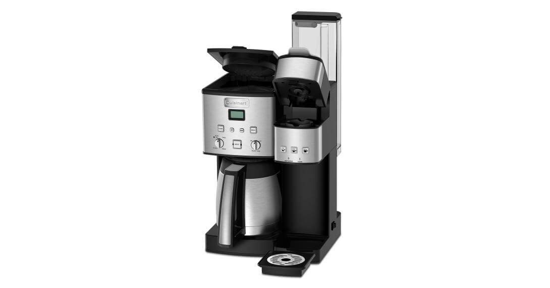 Coffee Center™ 10-Cup Thermal Coffeemaker and Single-Serve Brewer