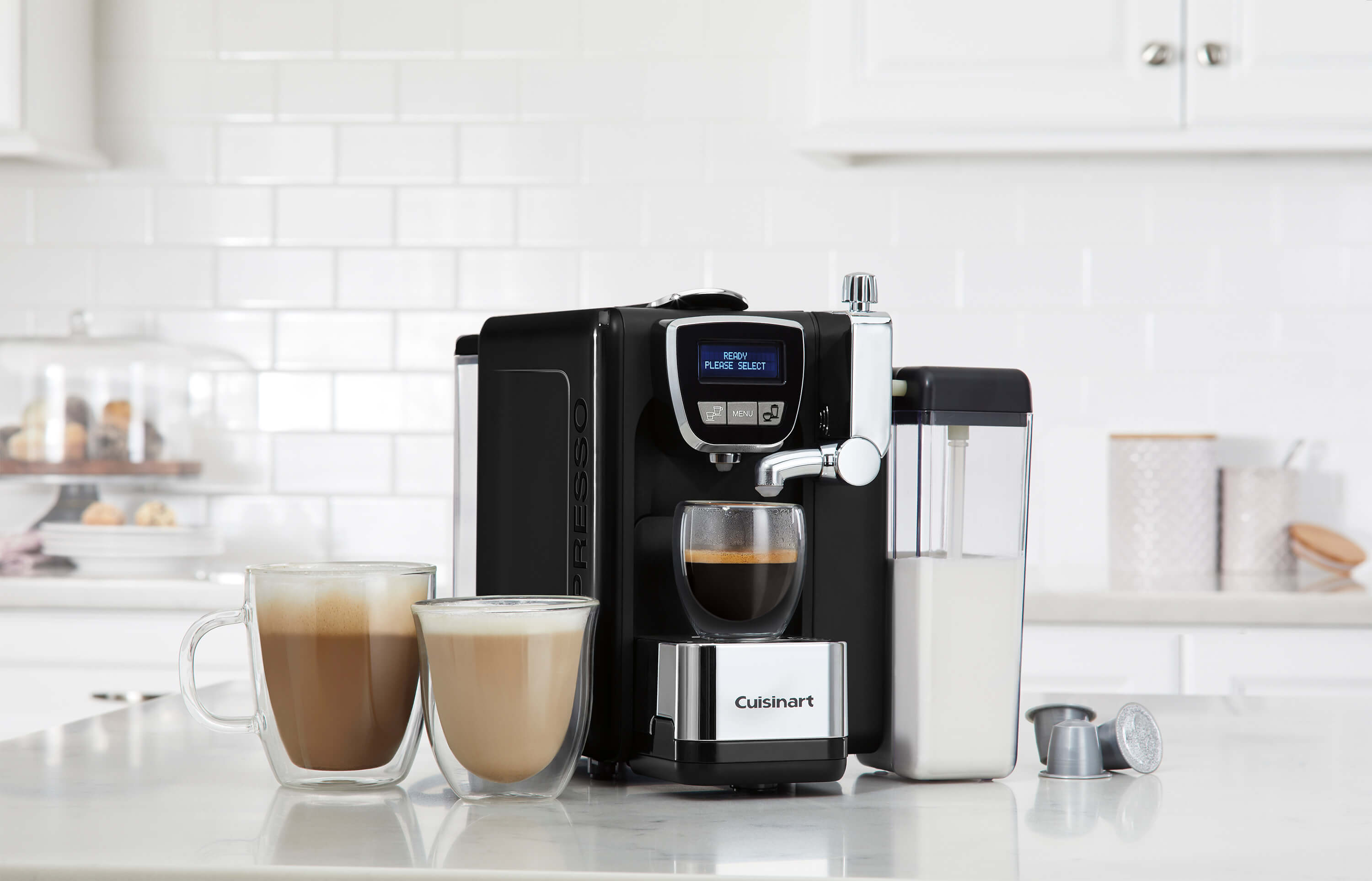 Espresso Defined™ - Espresso, Cappuccino, & Latte Machine