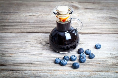 Blueberry/Cranberry Maple Syrup