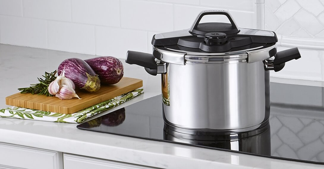 Professional Collection Stainless Steel Pressure Cookers 6 Quart Pressure Cooker