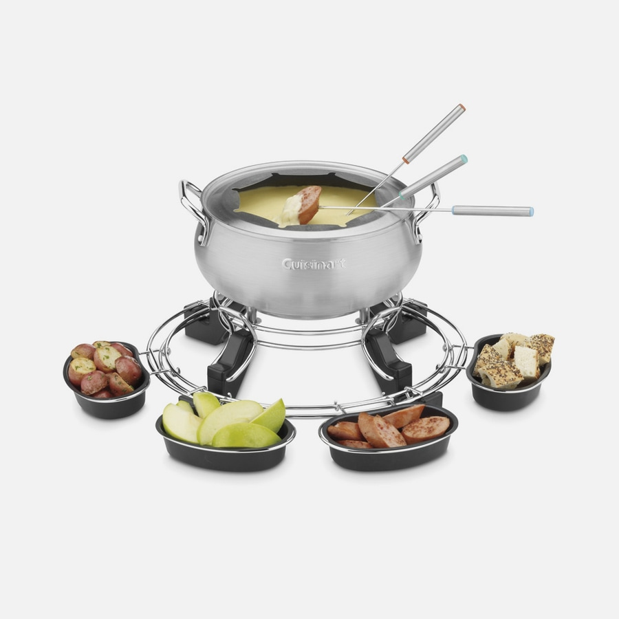 Lazy Susan Electric Fondue