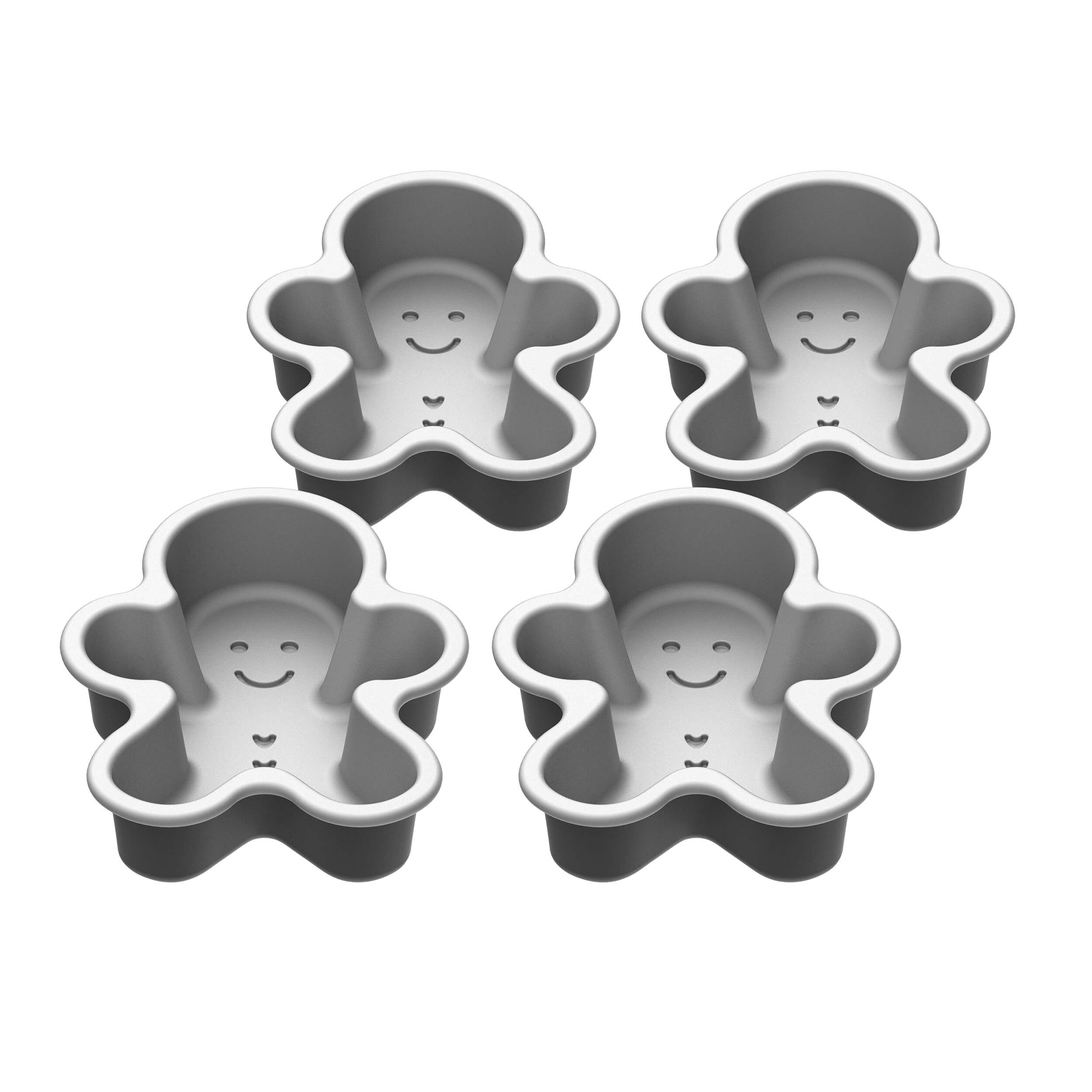 4-pc Mini Gingerbread Man Set