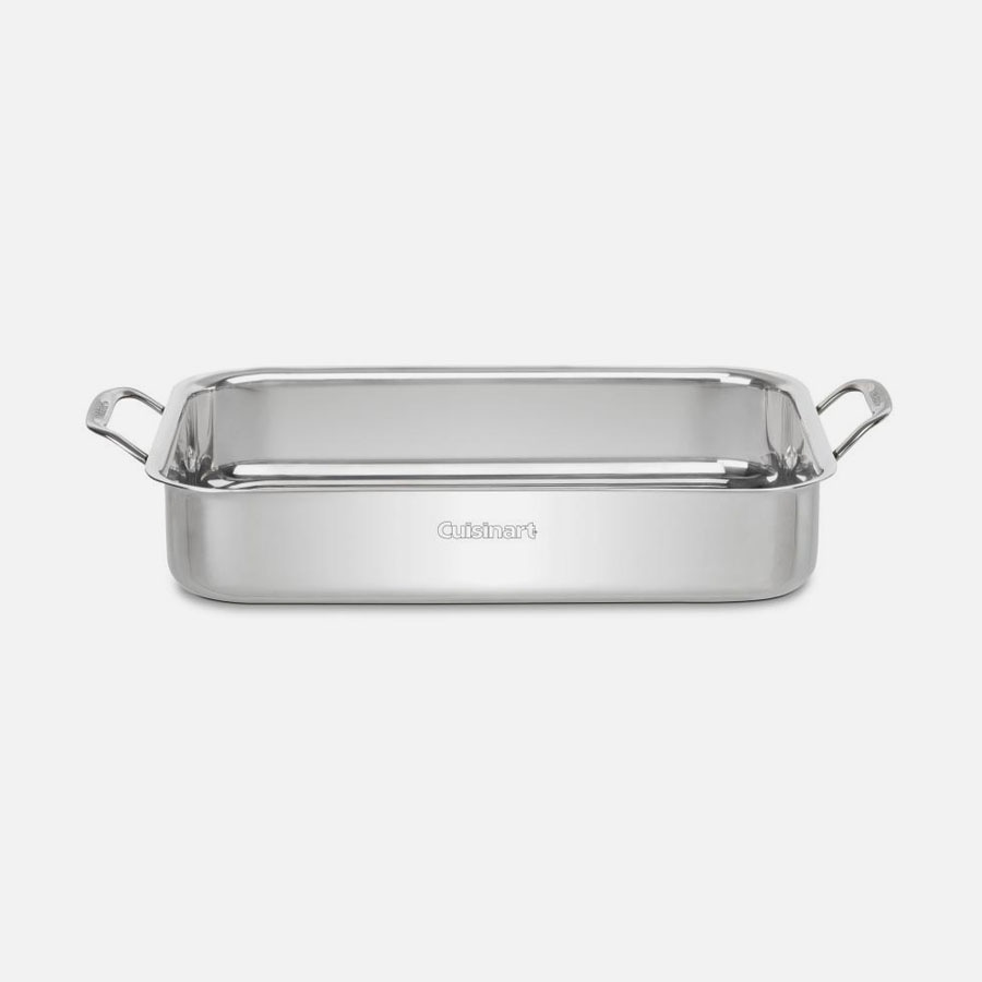 SECONDS 1xPardini Professional 47cm Deep Roasting Pan with Fixed Handles Cooking