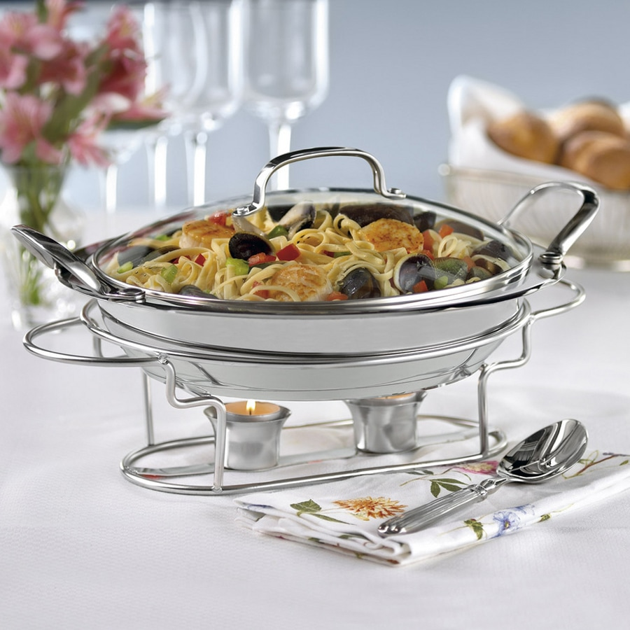 "Classic Entertaining Collection 11"" Round Buffet Server"