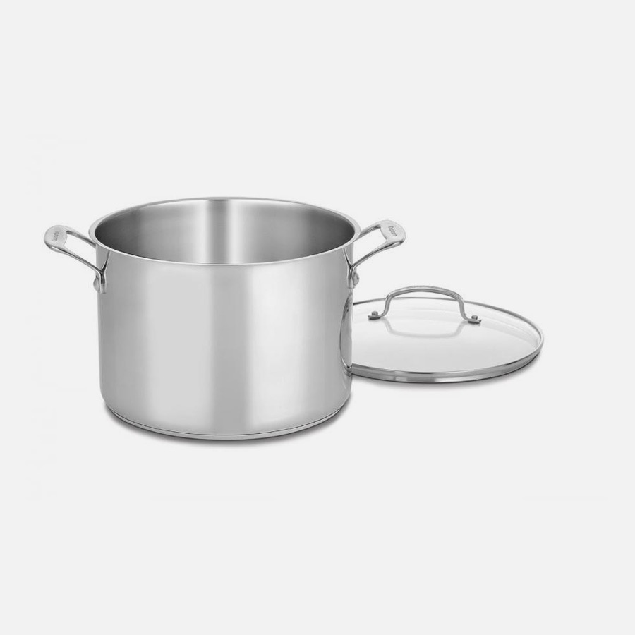 Chef's Classic™ Stainless 10 Quart Stockpot with Cover