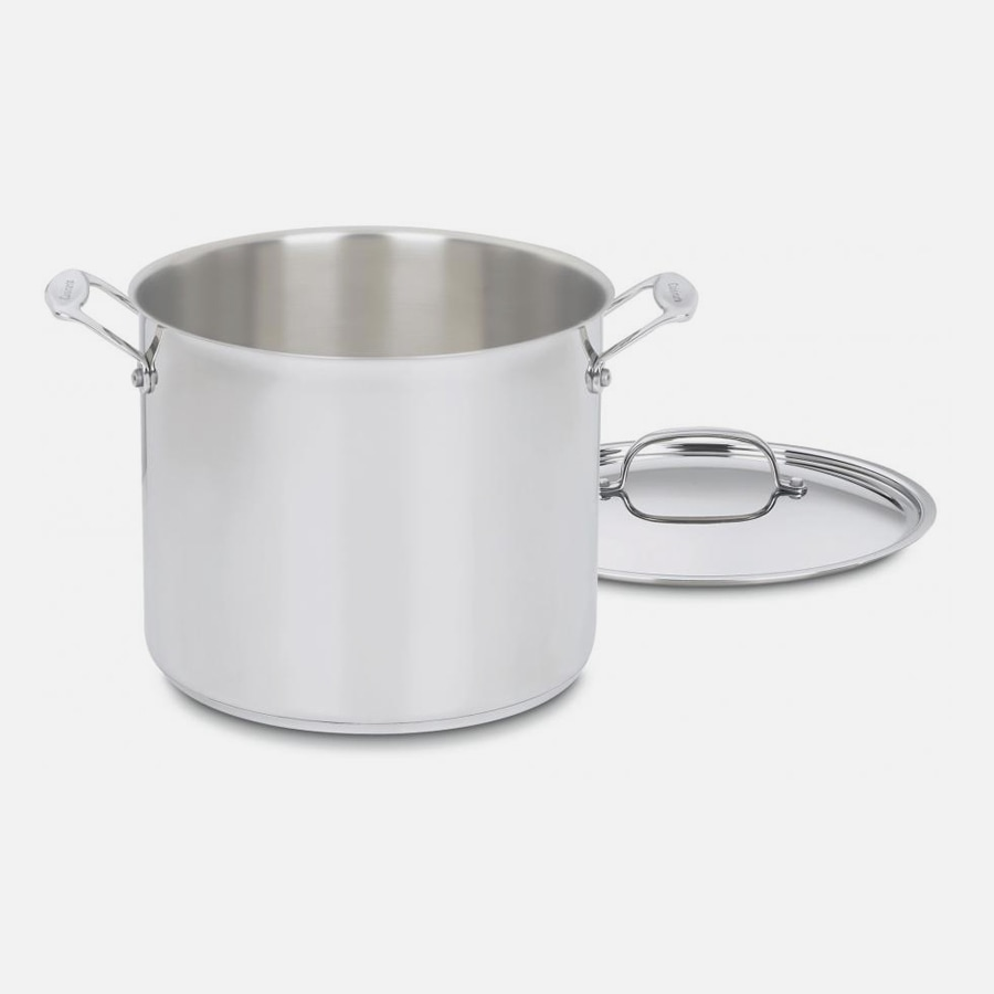 Chef's Classic™ Stainless 12 Quart Stockpot with Cover