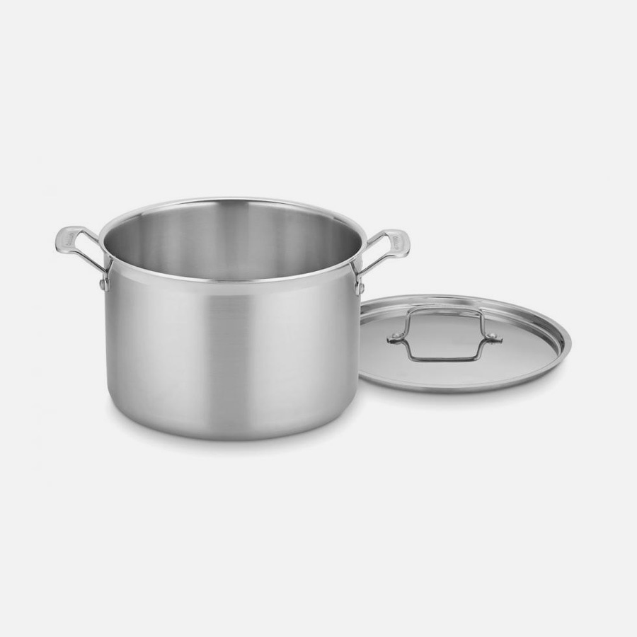 MultiClad Pro Triple Ply Stainless Cookware 12 Quart Stockpot with Cover