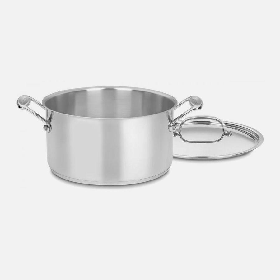 Chef's Classic™ Stainless 6 Quart Stockpot with Cover