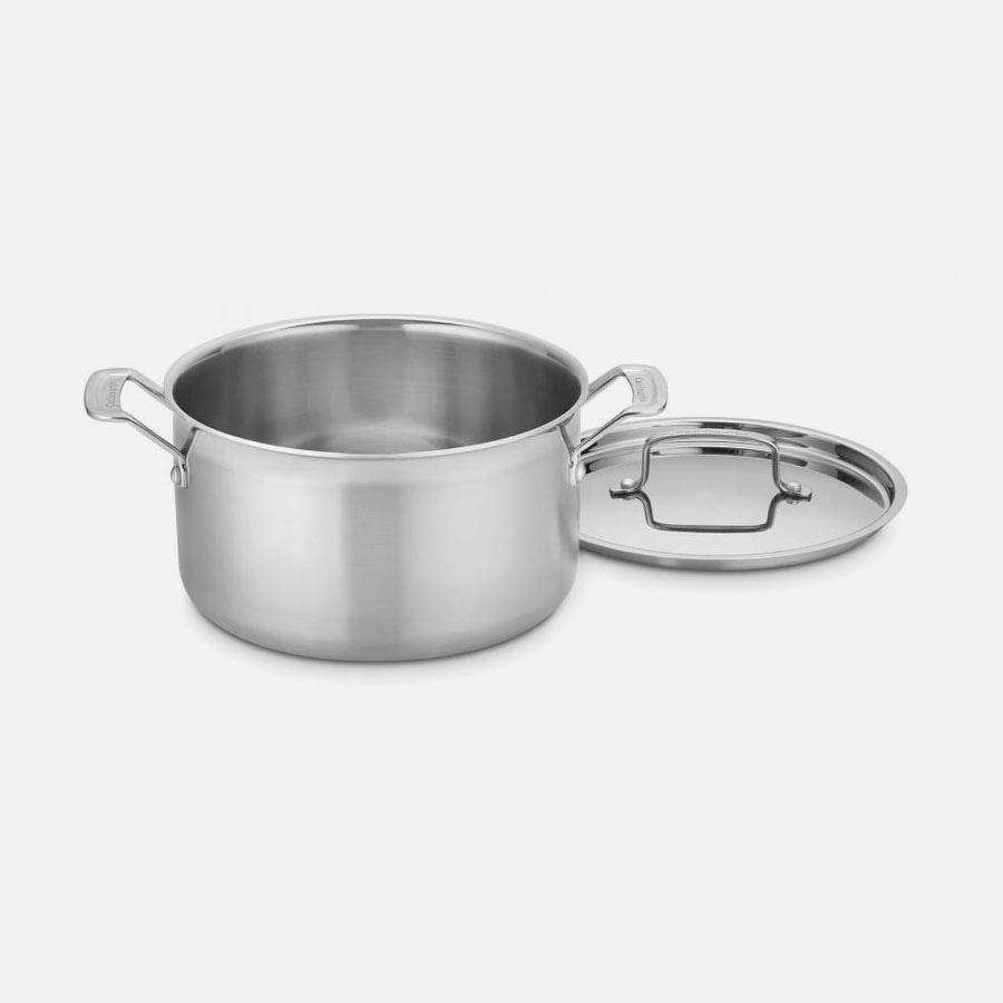 MultiClad Pro Triple Ply Stainless Cookware 6 Quart Stockpot