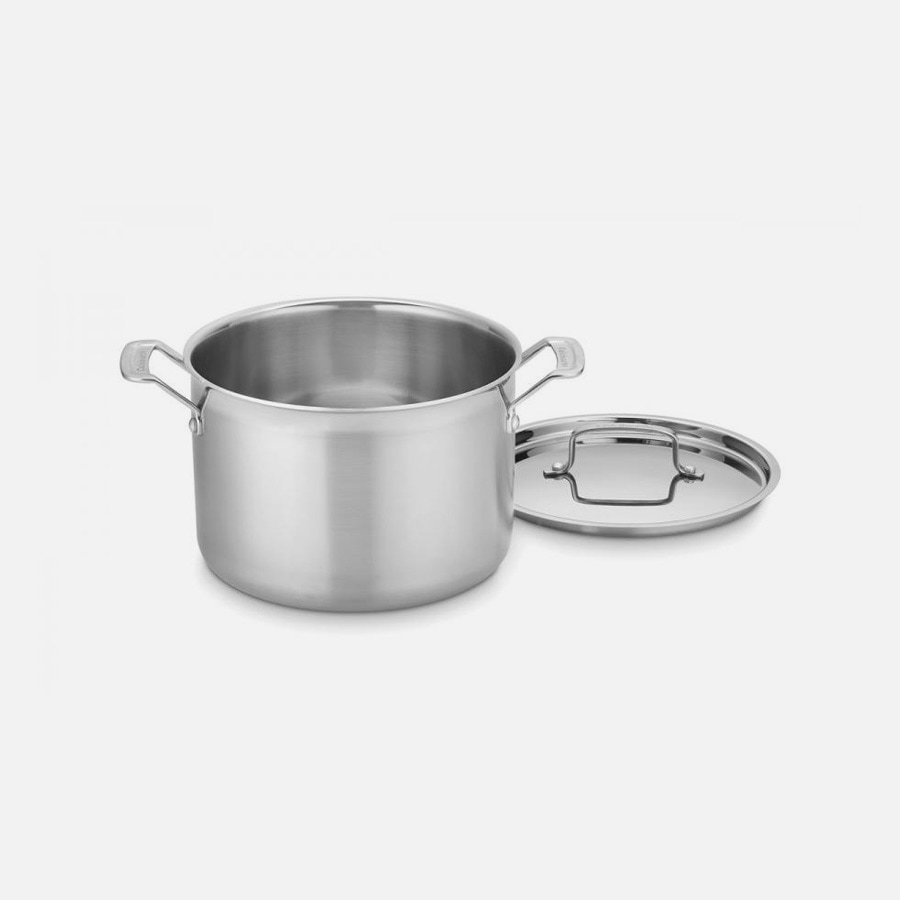 MultiClad Pro Triple Ply Stainless Cookware 8 Quart Stockpot
