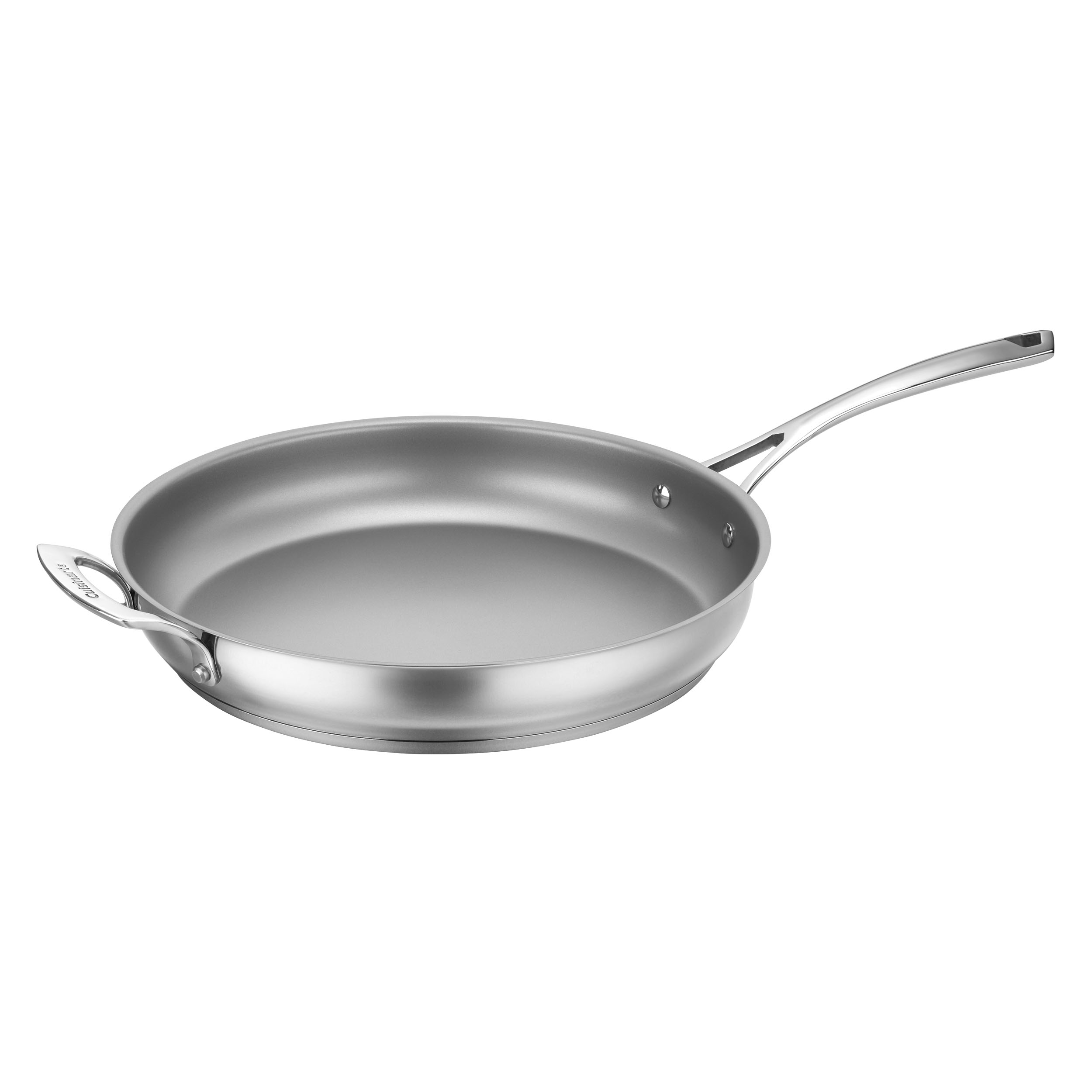 "12"" Non-Stick Skillet with Helper Handle"