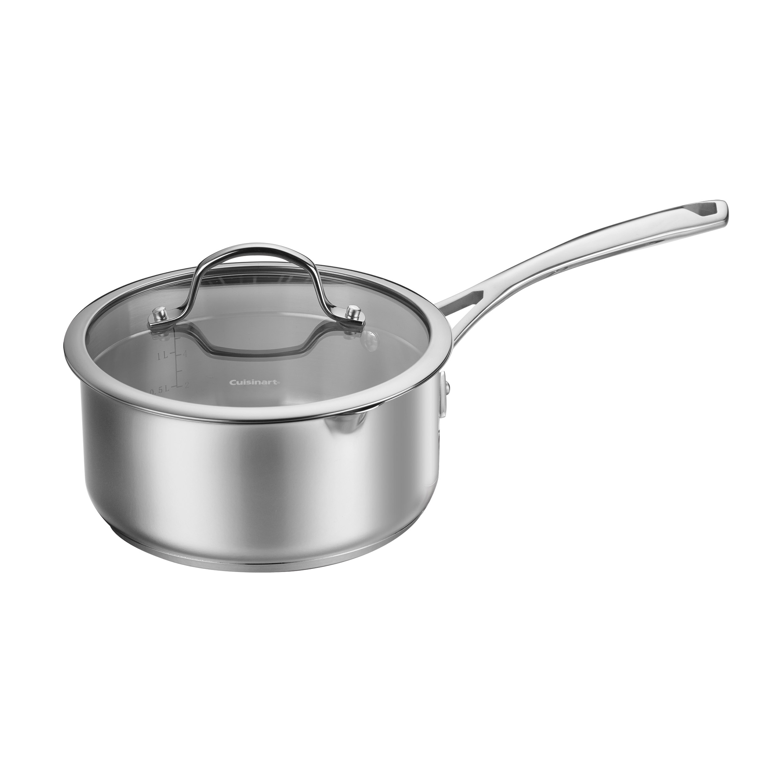 2 Quart Pour Saucepan with Straining Cover