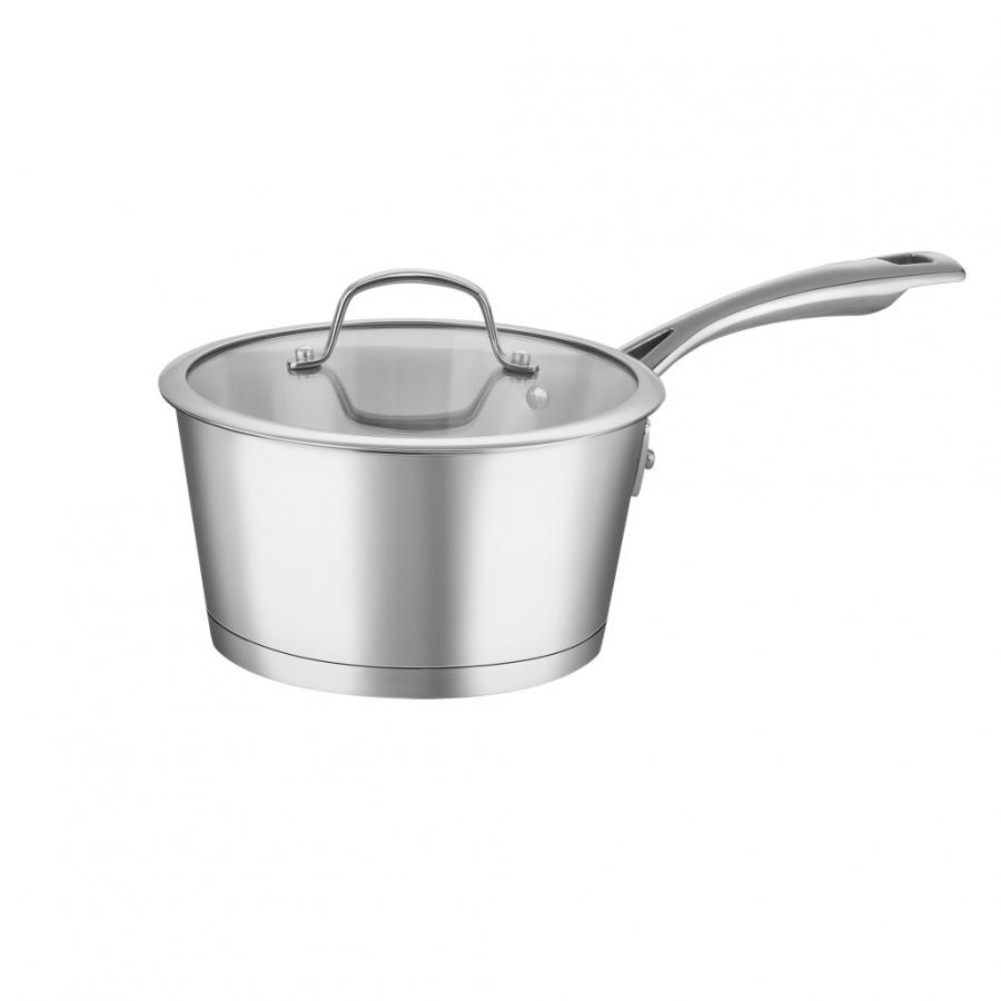 Chef's Classic™ Stainless 2 Quart Saucepan with Cover