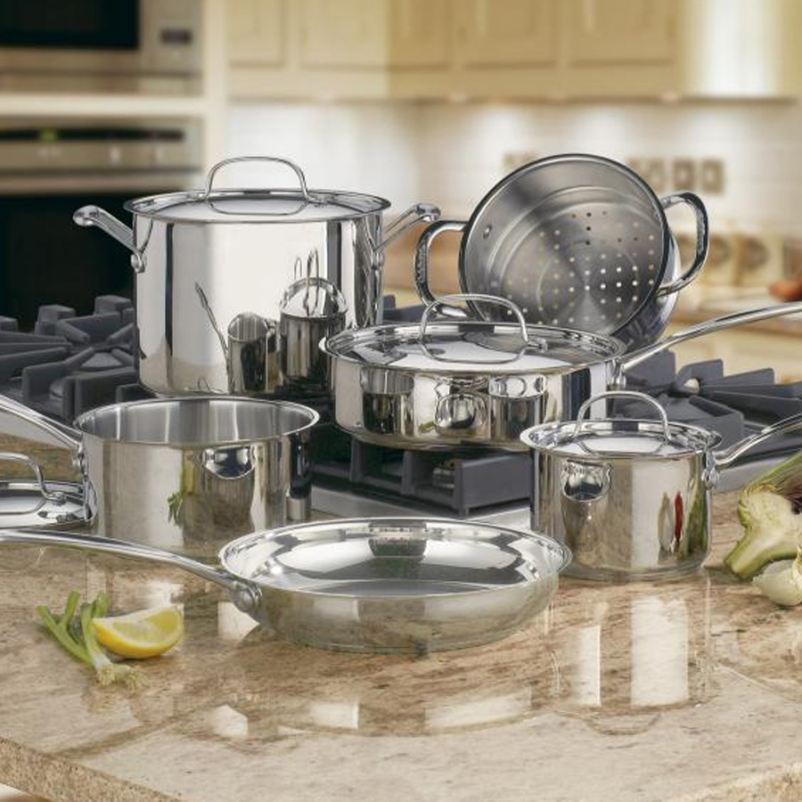 Chef's Classic™ Stainless 10 Piece Set