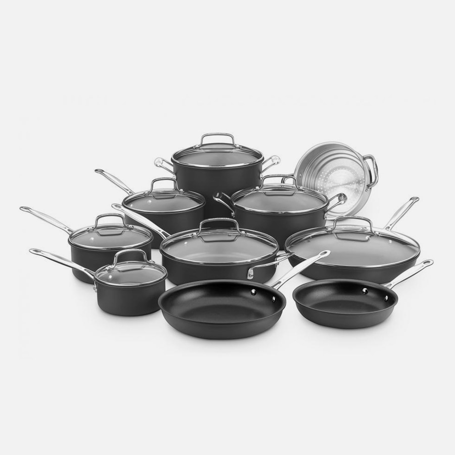 Chef's Classic™ Nonstick Hard Anodized 17 Piece Chef's Classic™ Nonstick Hard Anodized Set