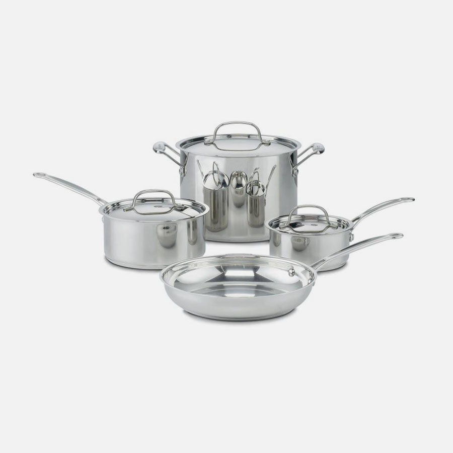 Chef's Classic™ Stainless 7 Piece Set