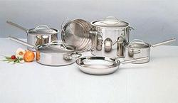 Discontinued 10 Piece Everyday Stainless Cookware Set (99-10)