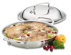 "12.5"" Braiser Pan with Cover"
