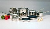 Discontinued 13 Piece Everyday Stainless Cookware Set (99-13)