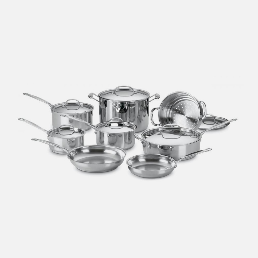 Discontinued 14 Piece Chef's Classic Cookware Set (77-14)