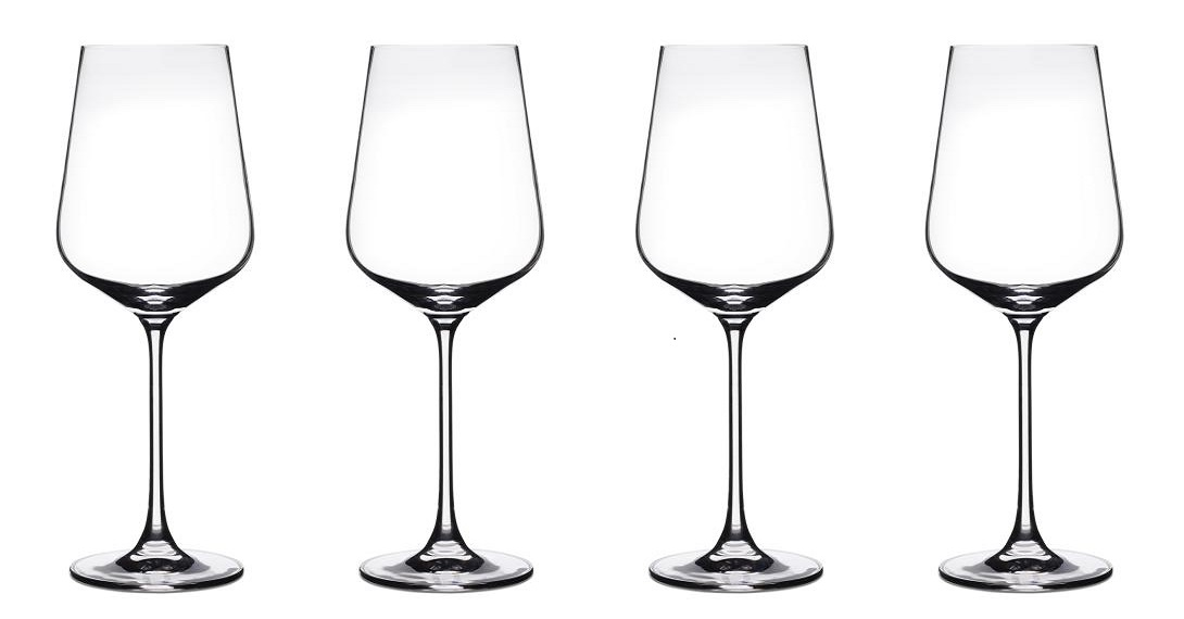 Vivere Collection All Purpose/Red Wine Glasses (Set of 4)