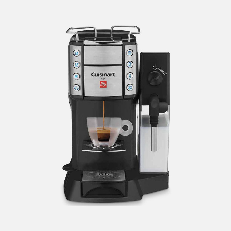 Buona Tazza™ Super Automatic Single Serve Espresso, Caffè Latte & Cappuccino Maker
