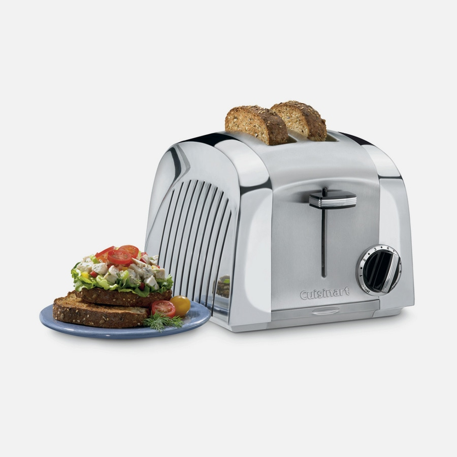 Discontinued Cast Metal 2 Slice Toaster (CMT-200)