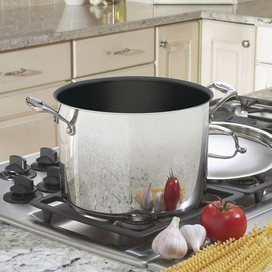 Chef's Classic™ Nonstick Stainless 8 Quart Stockpot
