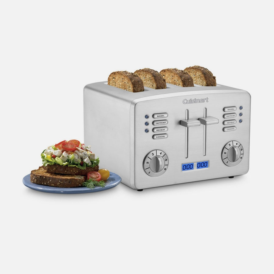 Discontinued Countdown Metal 4-Slice Toaster (CPT-190)