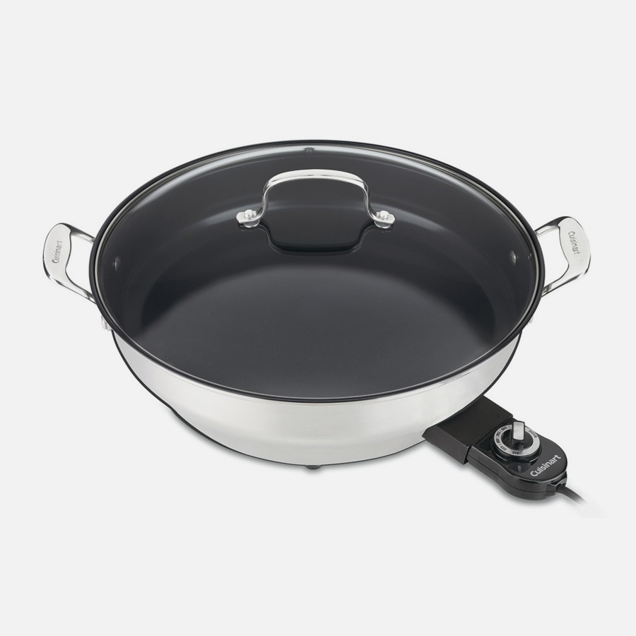 "Discontinued GreenGourmet® Electric 14"""" Skillet (CSK-250)"