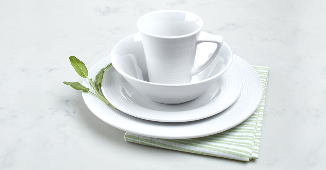 Marne Collection Porcelain Dinnerware