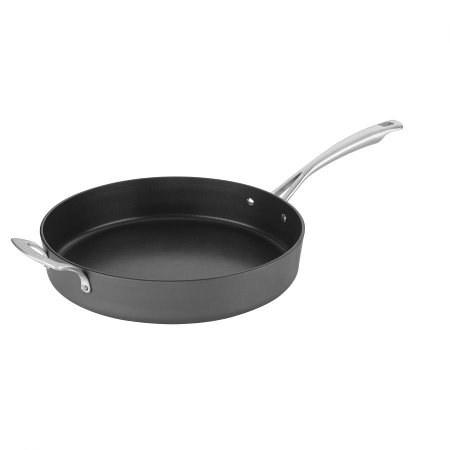 "Nonstick Hard Anodized 12"" Skillet with Helper Handle"