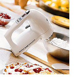 SmartPower CountUp® 9 Speed Electronic Hand Mixer