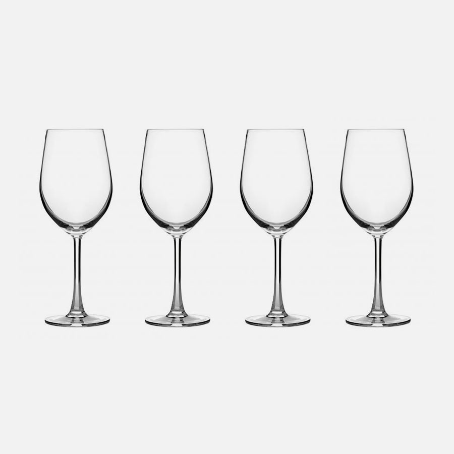 Classic Essentials Collection White Wine Glasses (Set of 4)