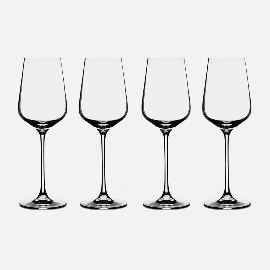 Vivere Collection Wine Glasses (Set of 4)