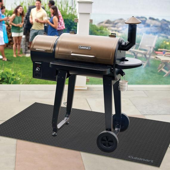 "65"" X 36"" Premium Deck and Patio Grill Mat"