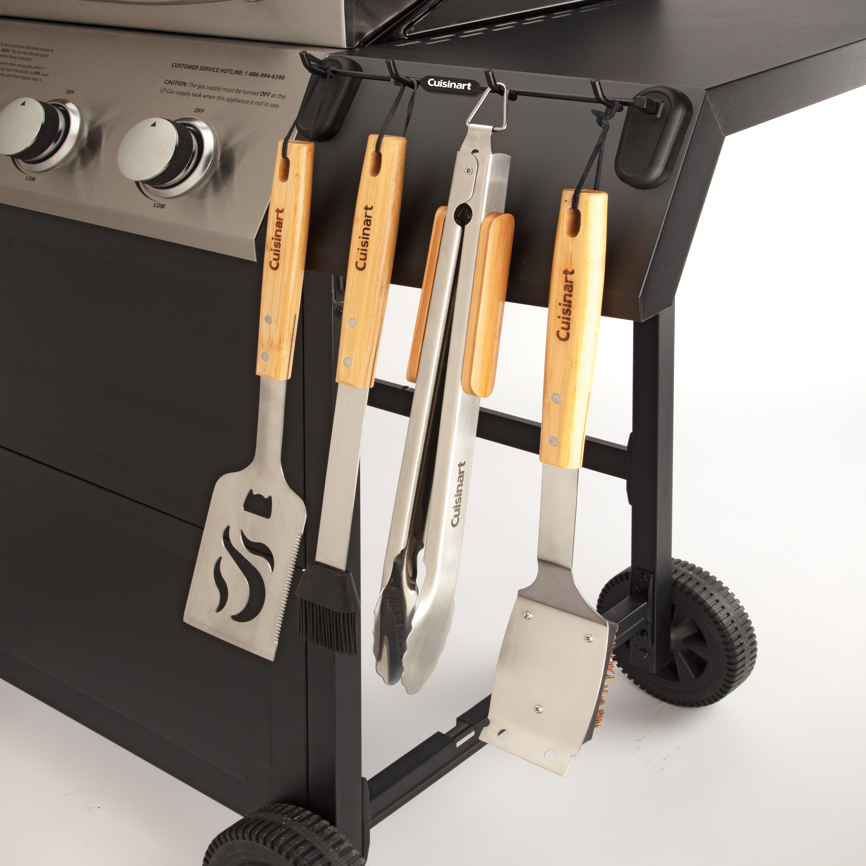 Magnetic Grill Tool Rack