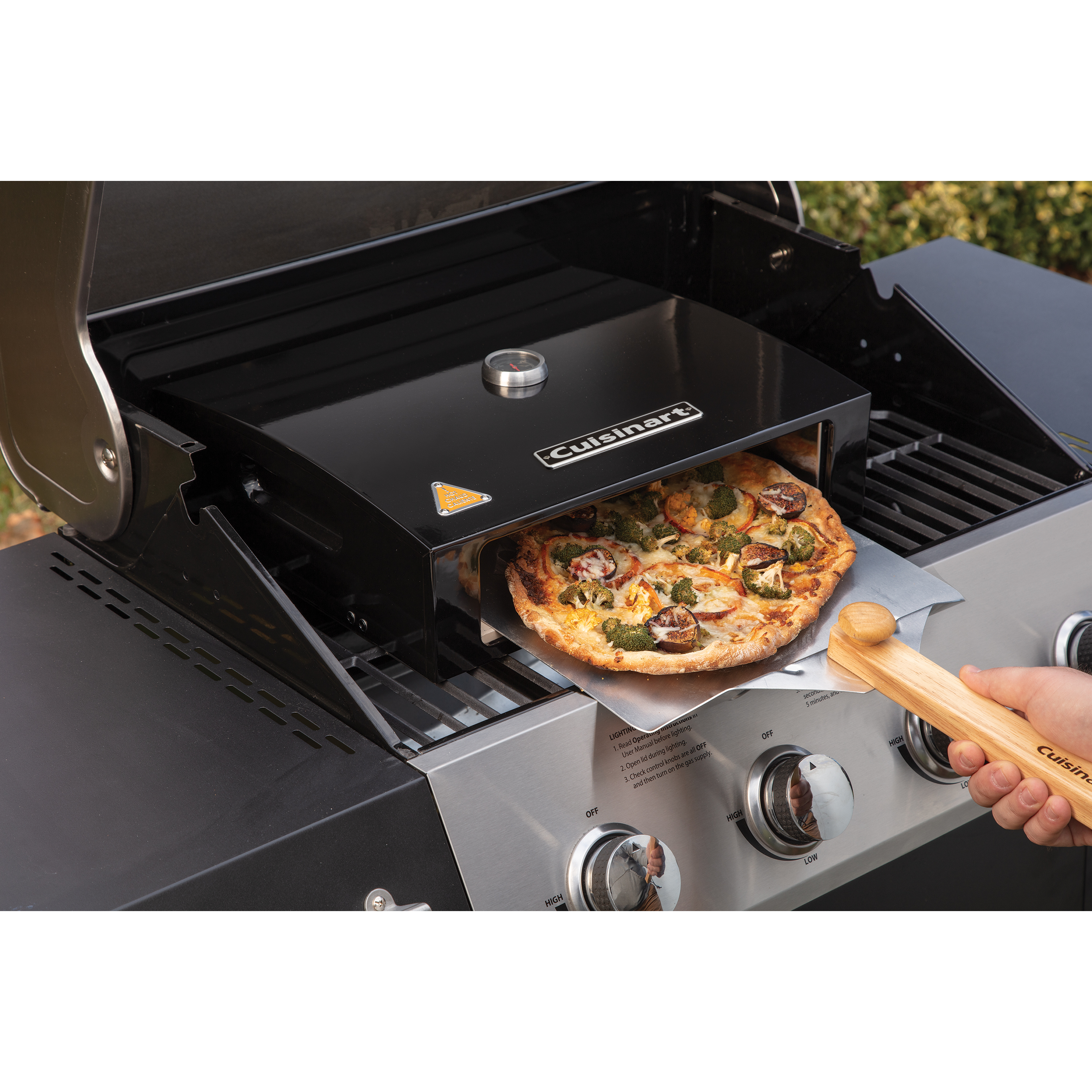 Grill Top Pizza Oven Kit