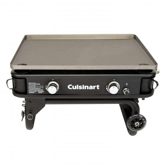 Cuisinart 28 Two Burner Gas Griddle, Cuisinart Round Flat Top Grill