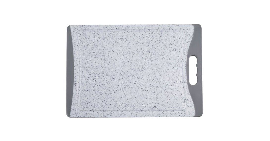 "14"" Marble Poly Cutting Board"