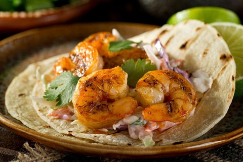 Grilled Mexican Shrimp