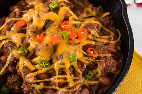 Beef Chili for a Crowd