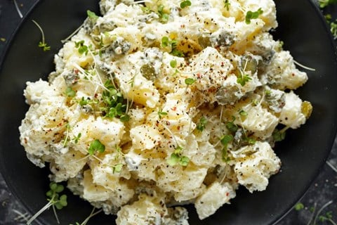 Warm Baked Potato Salad
