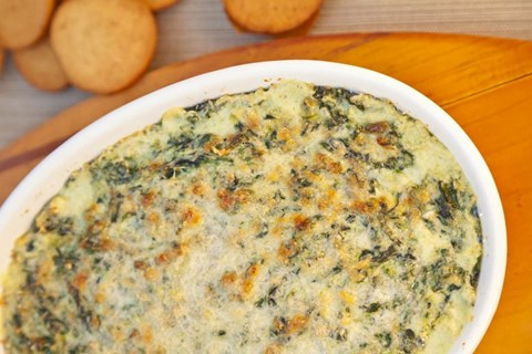 Spinach, Gruyère and Artichoke Dip