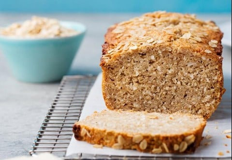 Banana-Oat Tea Loaf