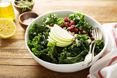 PEAR AND KALE SALAD