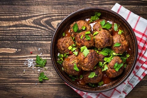 MEATBALLS - for food processors (makes approx 18)