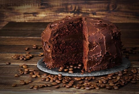 Deep Chocolate Layer Cake (for standmixer)