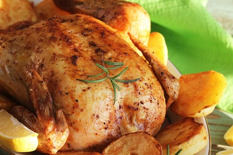SIMPLE WHOLE CHICKEN