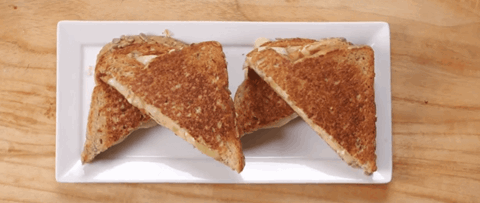 Apple & Brie Grilled Cheese